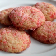 Sparkling Peppermint Sugar Cookies