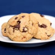 Chocolate Chip Cookies with Brown Butter & Coconut