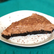 Whipped Nutella Pie with Oreo Crust