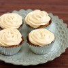 Carrot Cake Cupcakes with Cardamom Cream Cheese Frosting