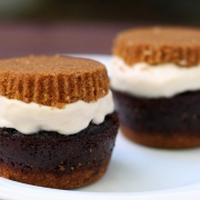 S'mores Cupcake Ice Cream Sandwiches