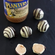 White Chocolate Peanut Butter Truffles