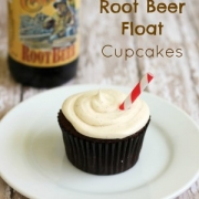 Award-Winning Ginger Root Beer Float Cupcakes