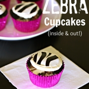 How to Make Zebra Cupcakes