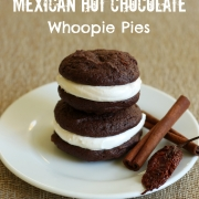 Mexican Hot Chocolate Whoopie Pies