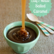 Easy 7 Minute Salted Caramel