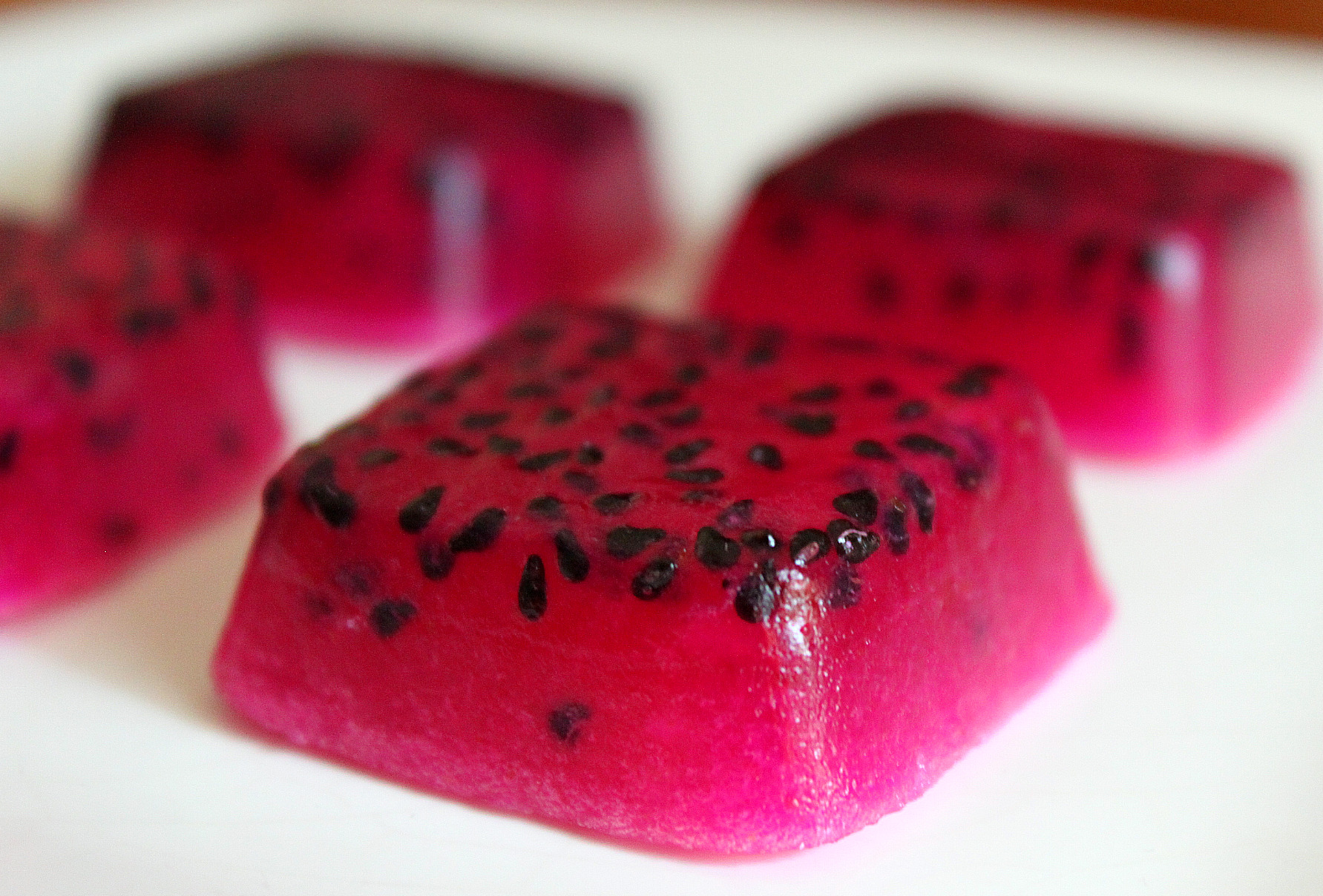 Dragon Fruit Jellies