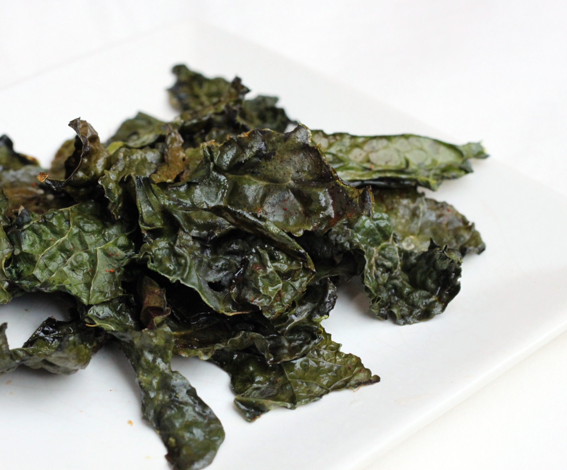 Baked Kale Chips | 52 Kitchen Adventures