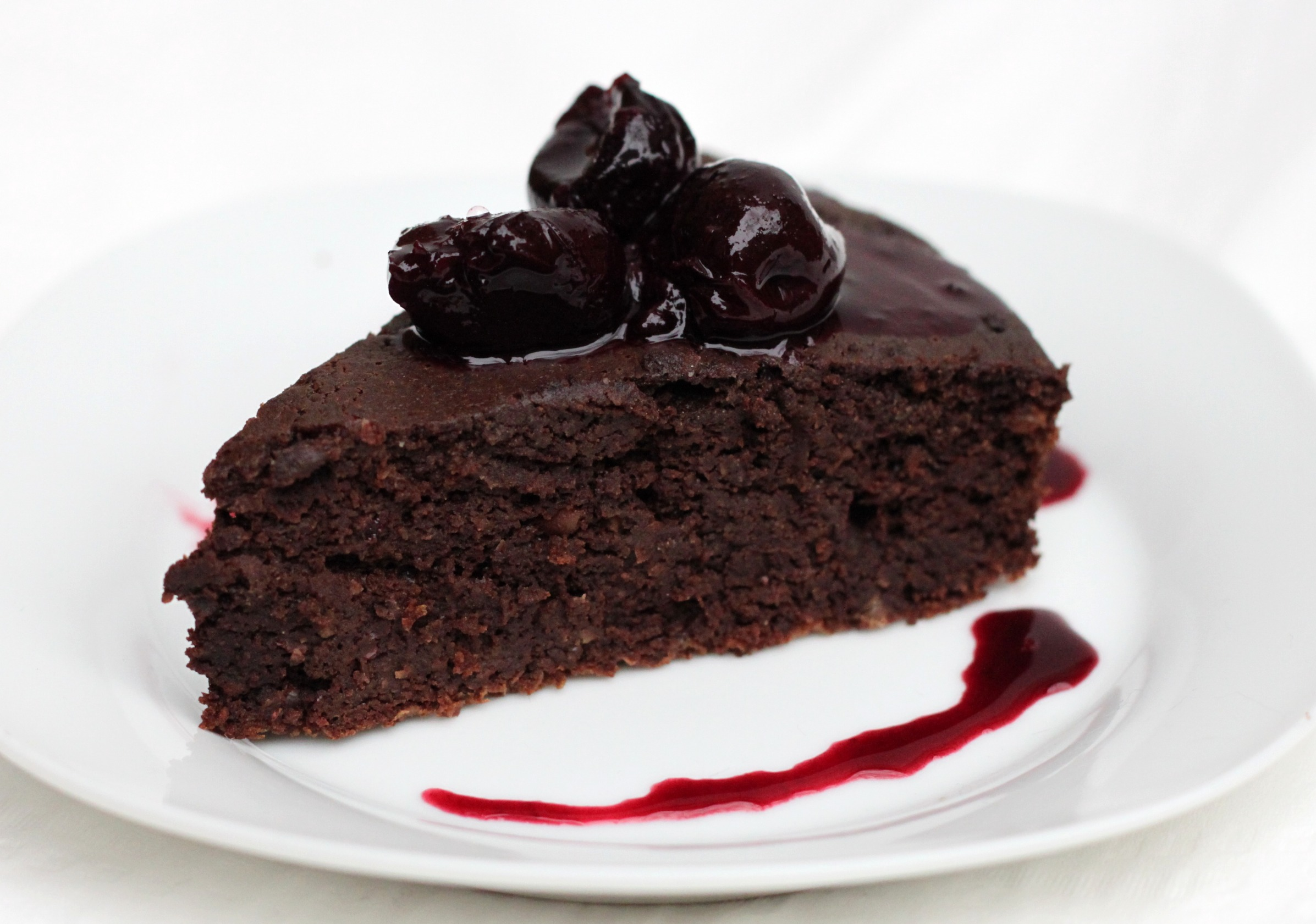 Easy Cherry Chocolate Chip Cake