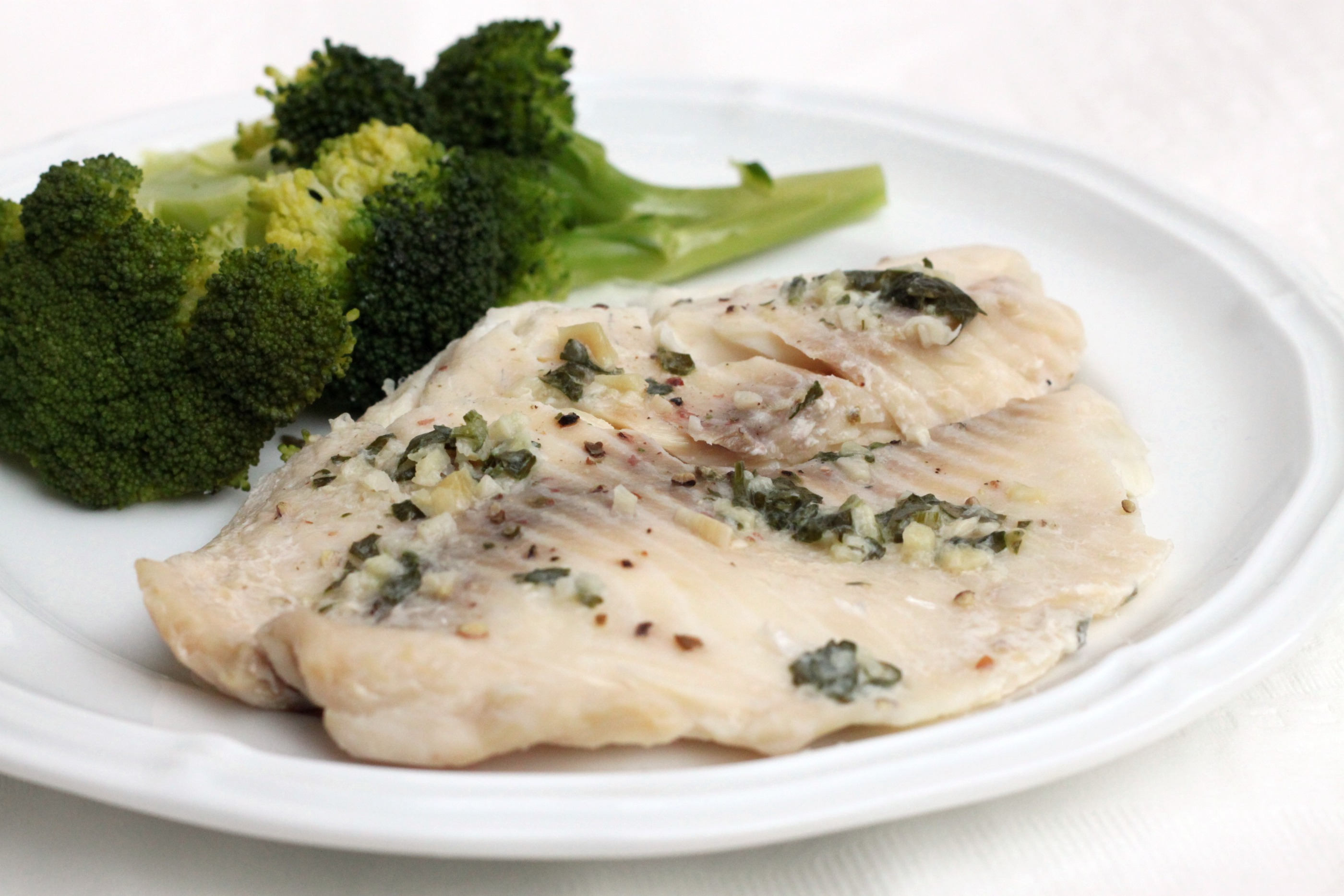 Slow cooker garlic butter tilapia 52 kitchen adventures for How to make tilapia fish