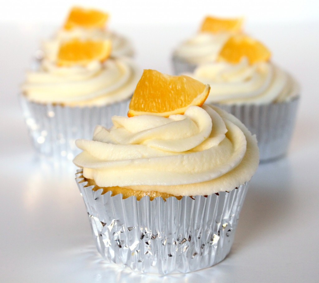Limoncello & Meyer Lemon Cupcakes | 52 Kitchen Adventures