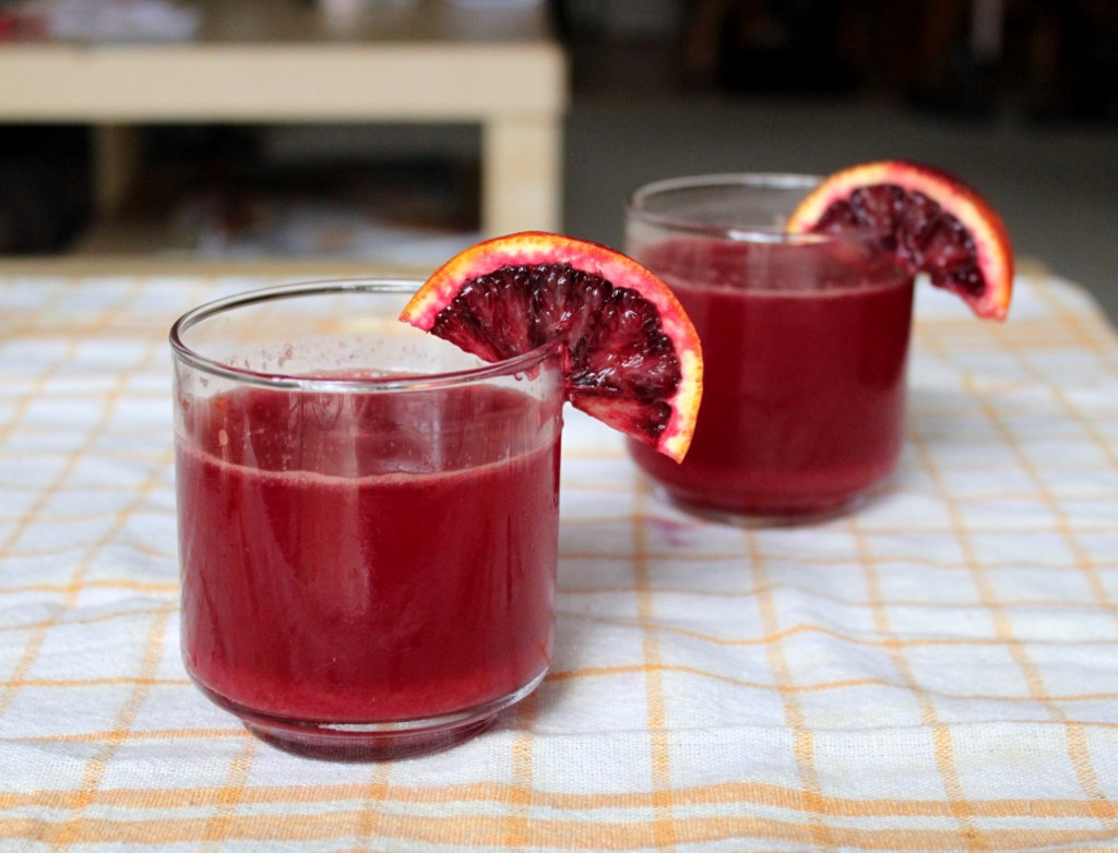Blood orange soda 1