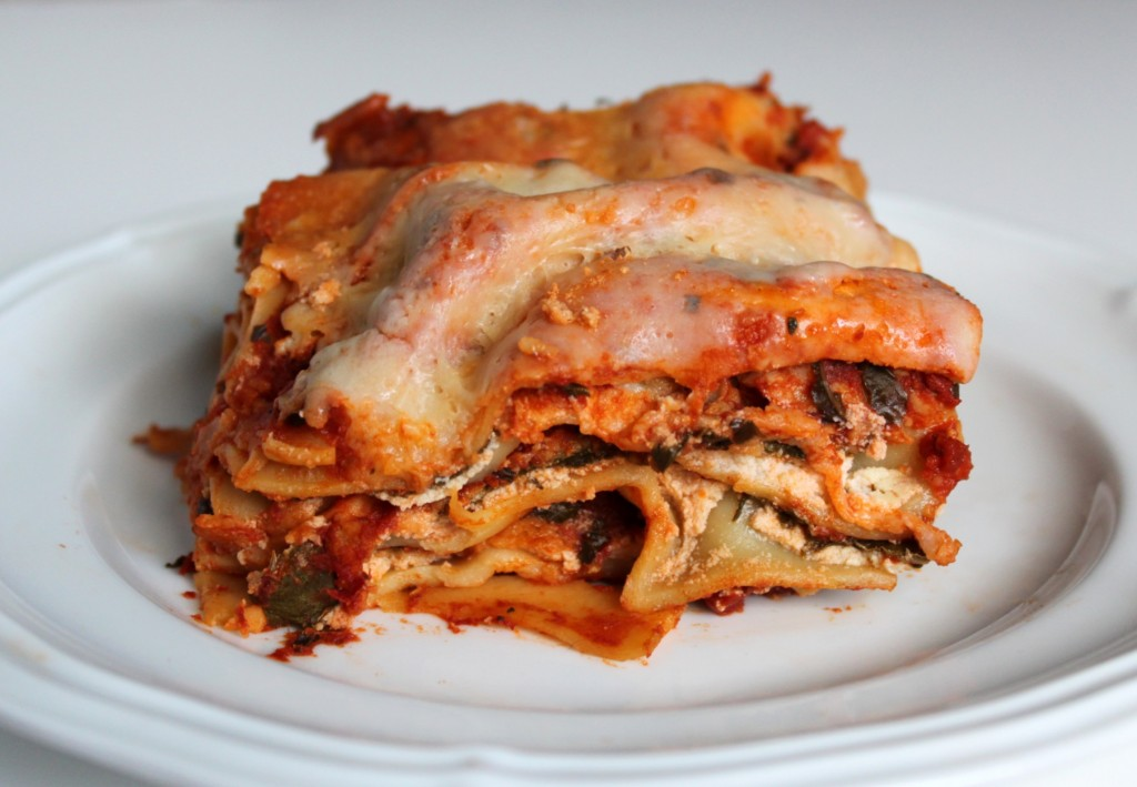 Slow Cooker Monday: Spinach Lasagna | 52 Kitchen Adventures