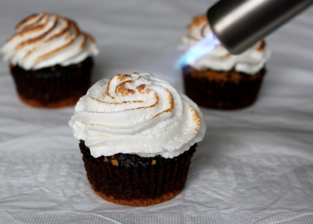 Homemade S'mores Cupcakes