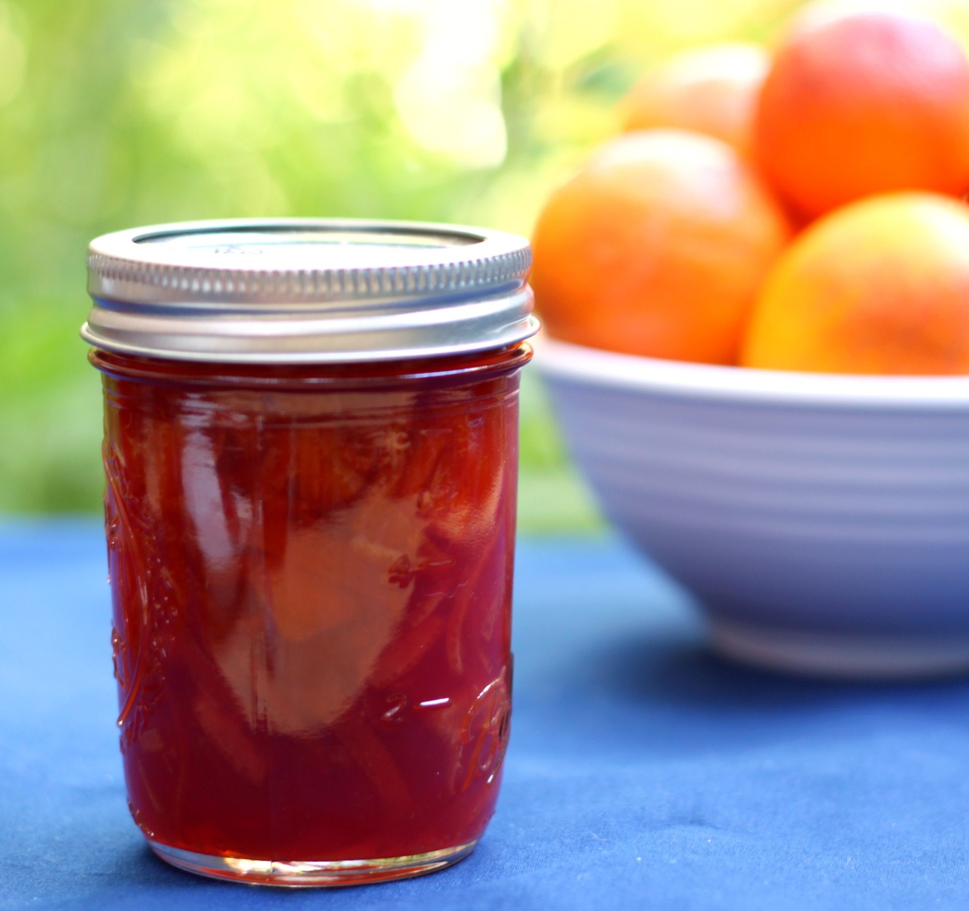 Homemade Blood Orange Marmalade