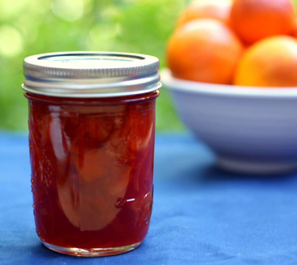 Recipe: Blood orange marmalade