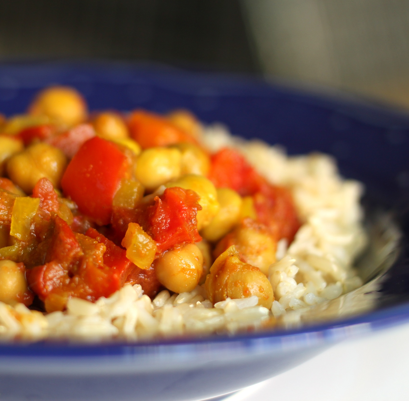 Slow cooker monday chickpea curry for Healthy crock pot recipes vegetarian