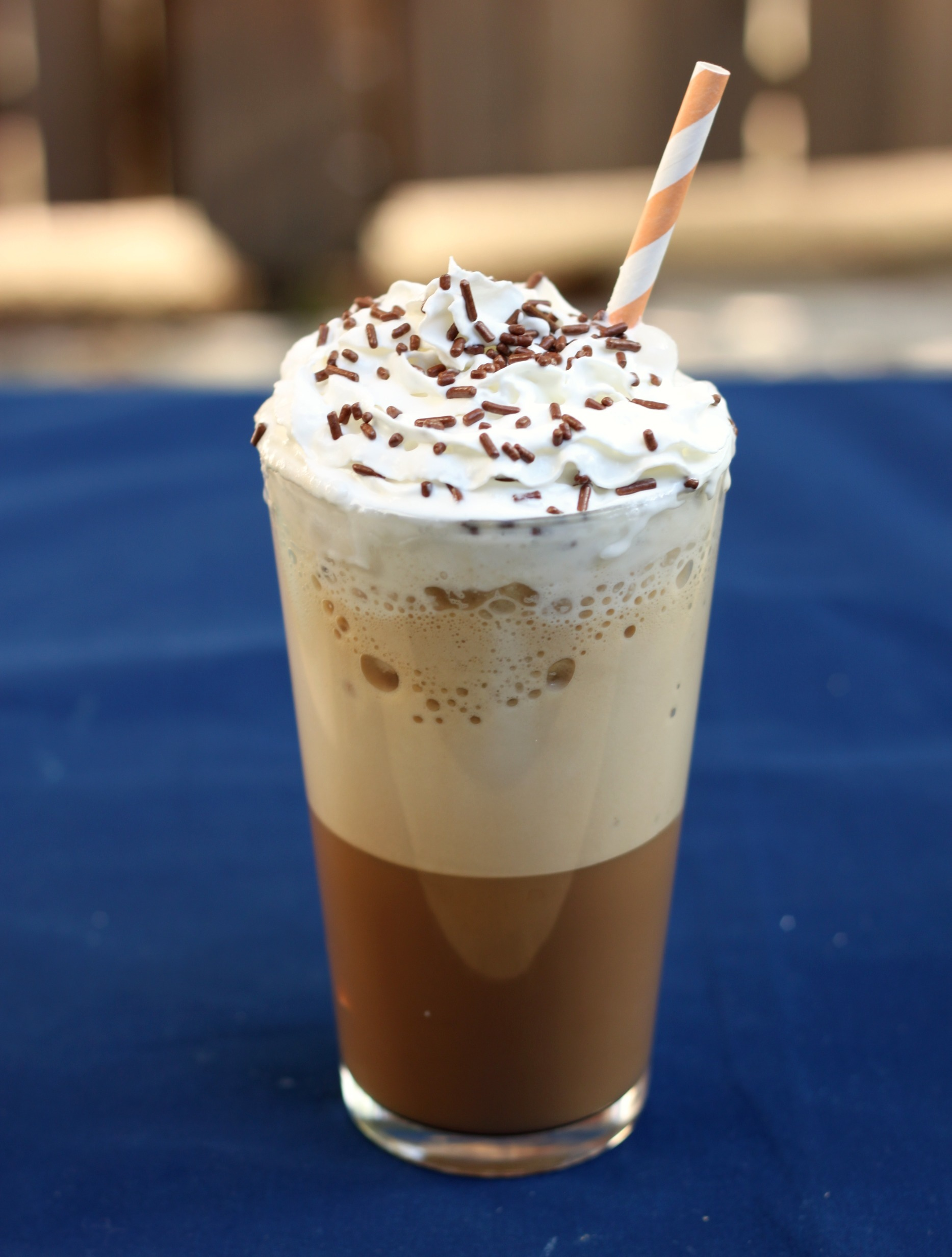 Homemade Blended Coffee