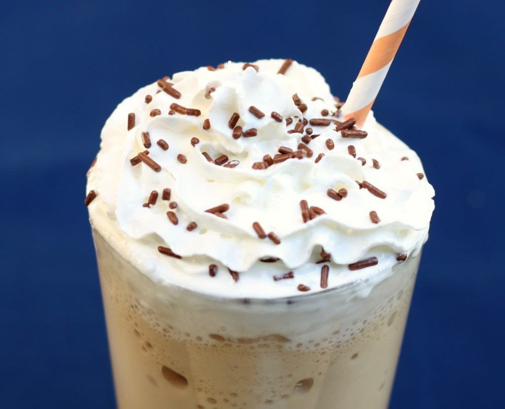 Recipe: Homemade blended iced coffee