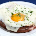 Wordless Wednesday: Croque Madame