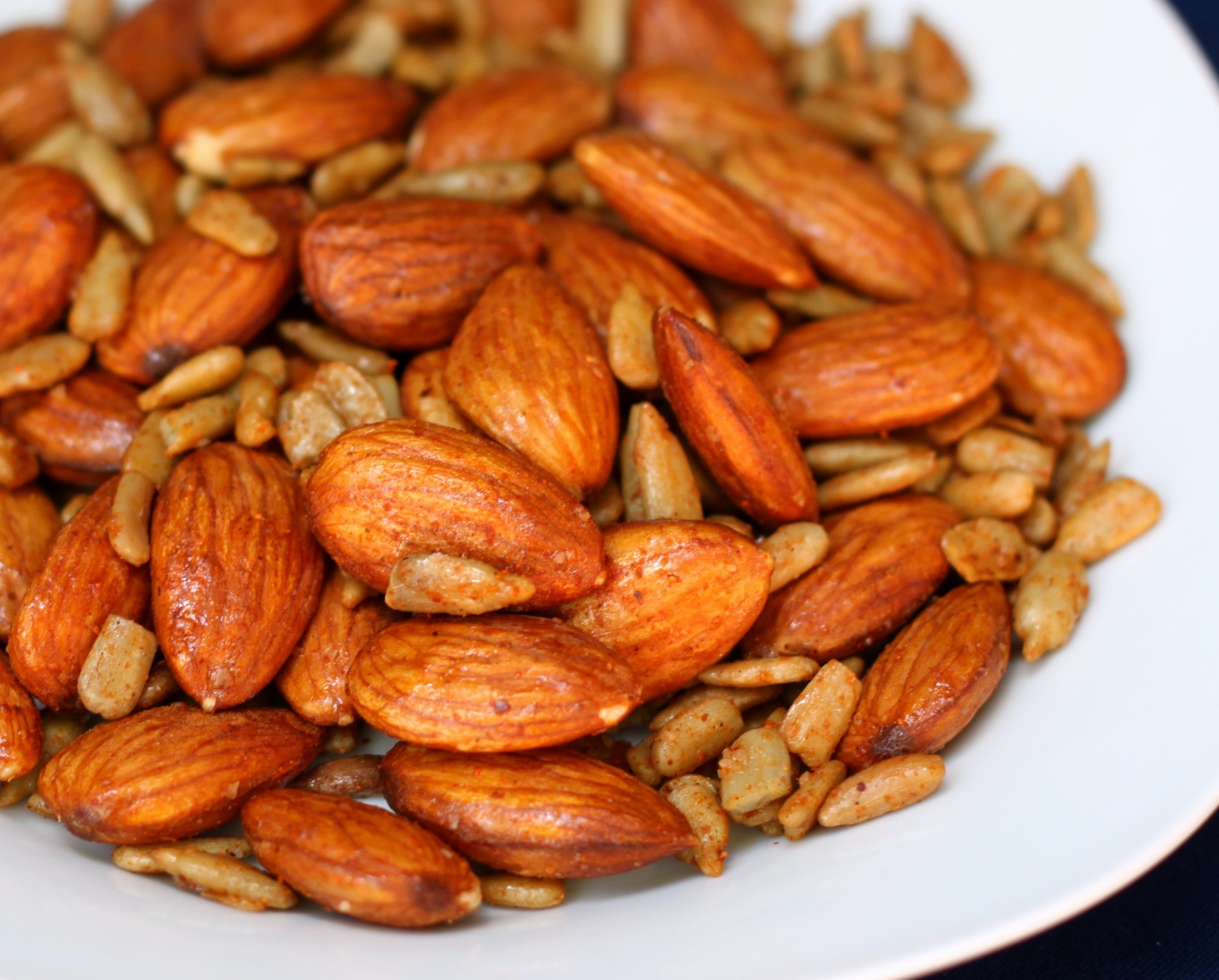 Savory Roasted Almonds Recipe — Dishmaps