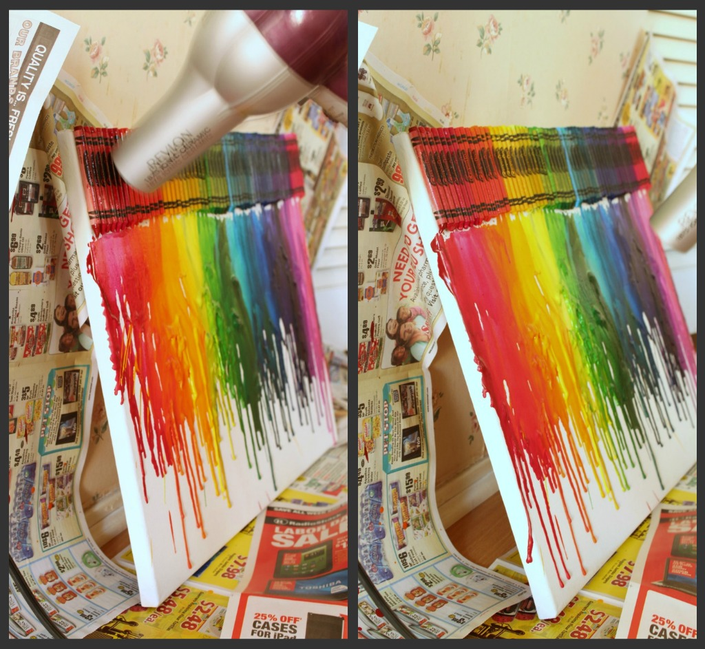 color crayon art : This
