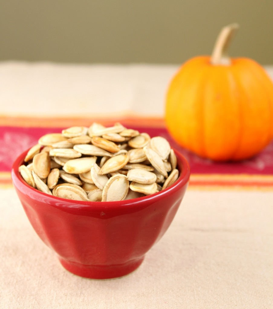Recipe: Roasted pumpkin seeds