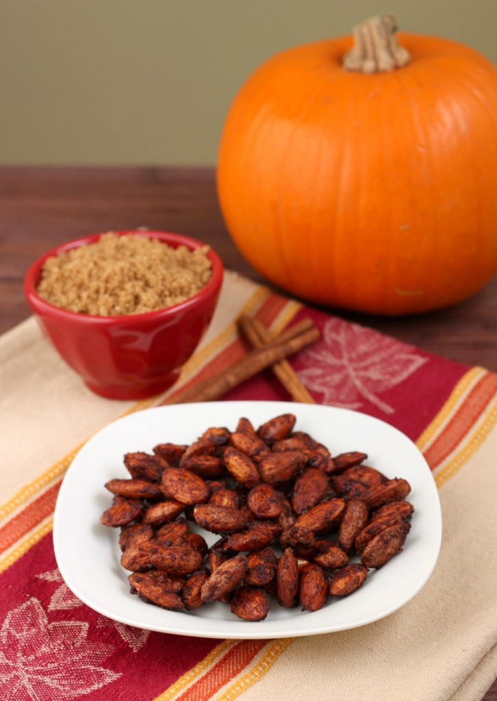 Recipe: Pumpkin pie almonds