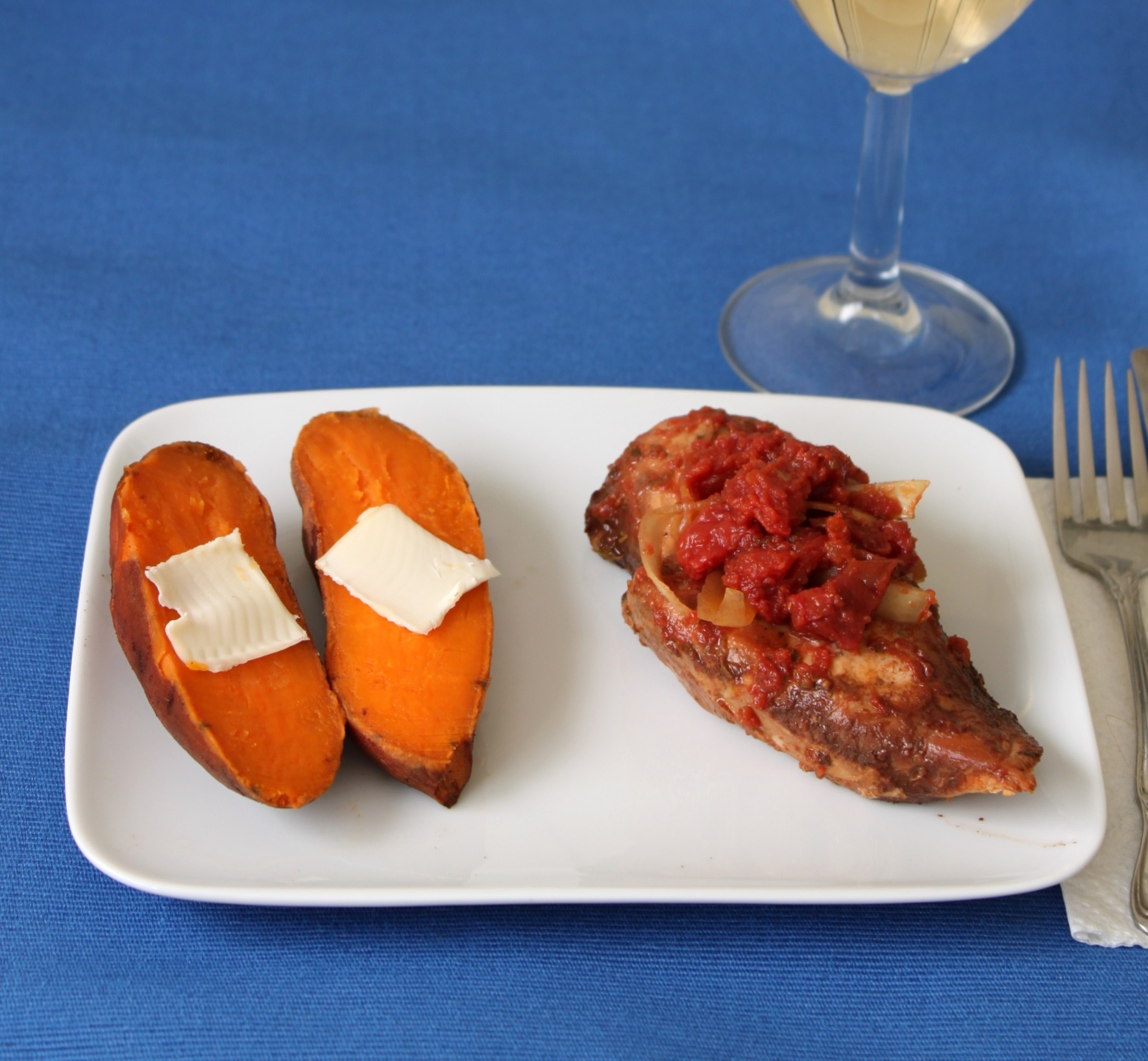 Slow Cooker Monday: Balsamic Chicken and Baked Yams | 52 ...