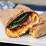 Two Minute Egg and Cheese Wrap