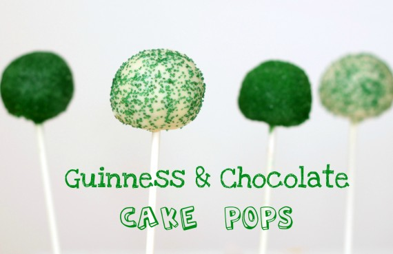 Recipe: Guinness and chocolate cake pops