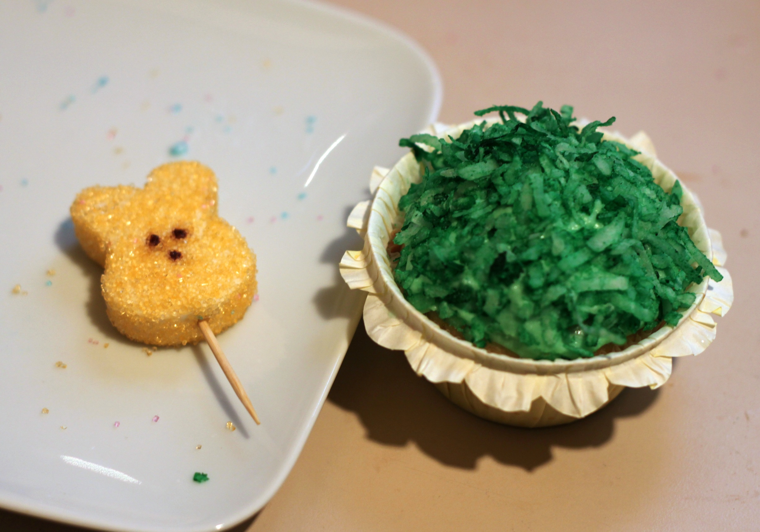 Impale a Peep with a toothpick