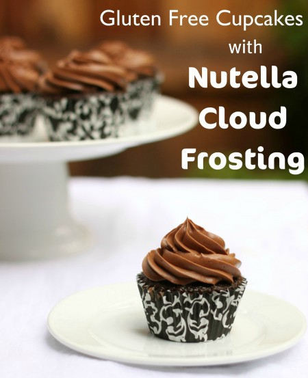 Recipe: Gluten free cupcakes with Nutella cloud frosting