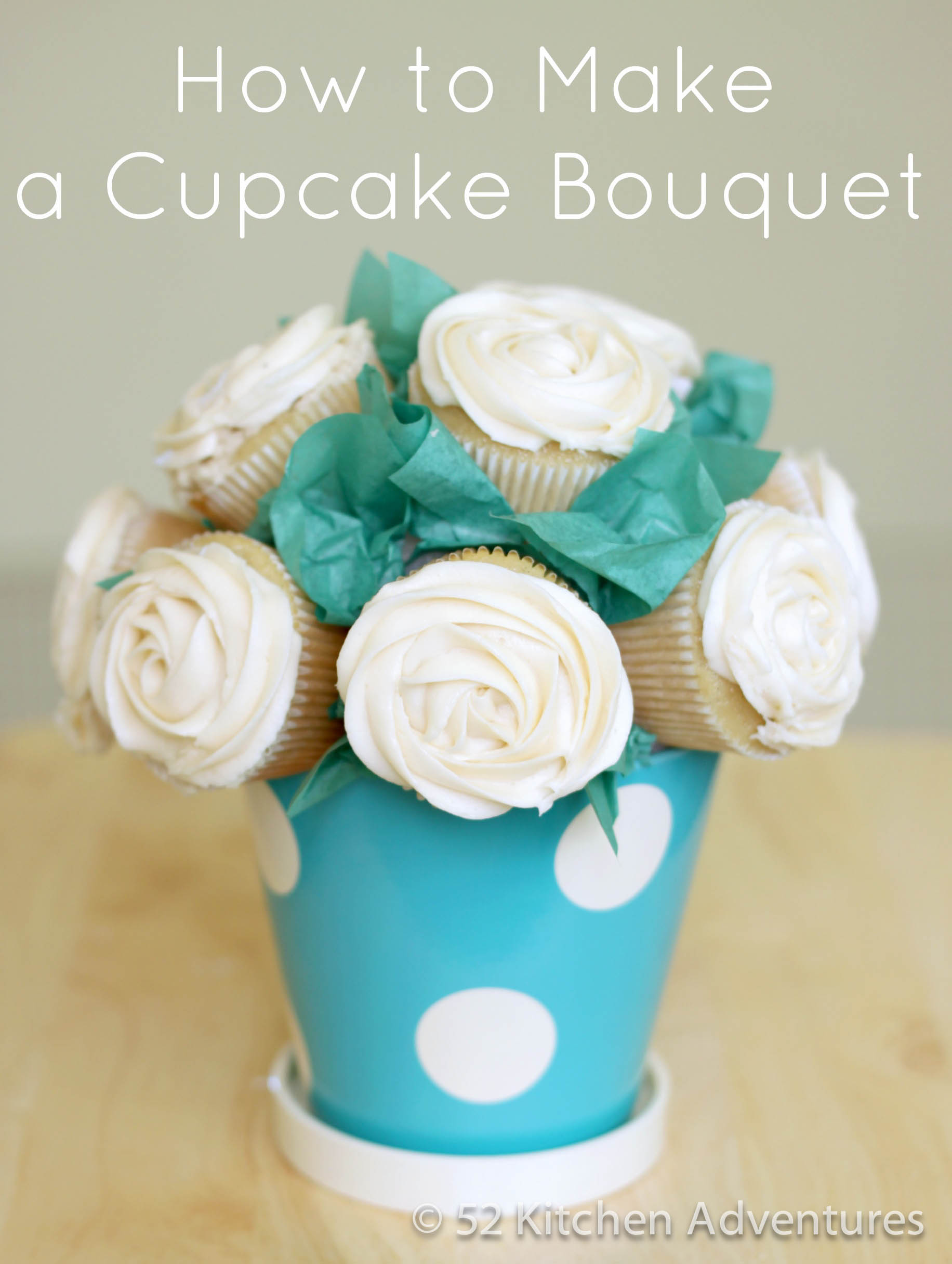 How to make a cupcake bouquet how to make a cupcake bouquet1g izmirmasajfo