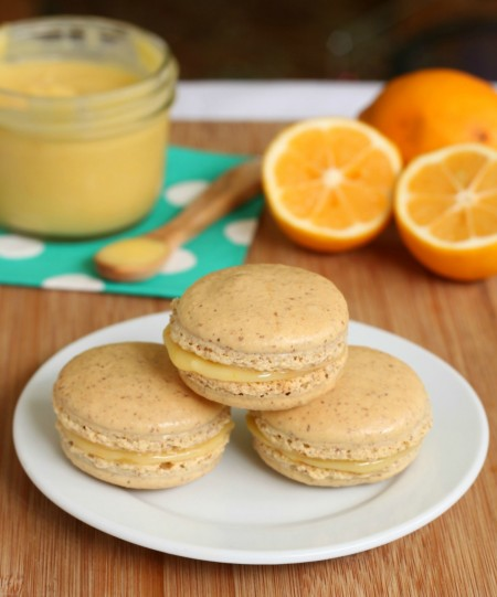Recipe: Meyer lemon macarons
