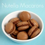 Chocolate Macarons with Nutella Mousse
