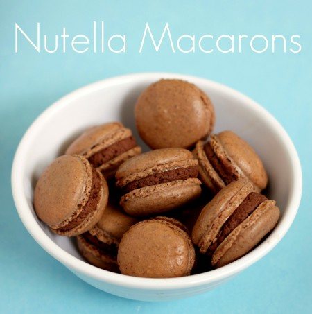 Recipe: Chocolate macarons with Nutella mousse