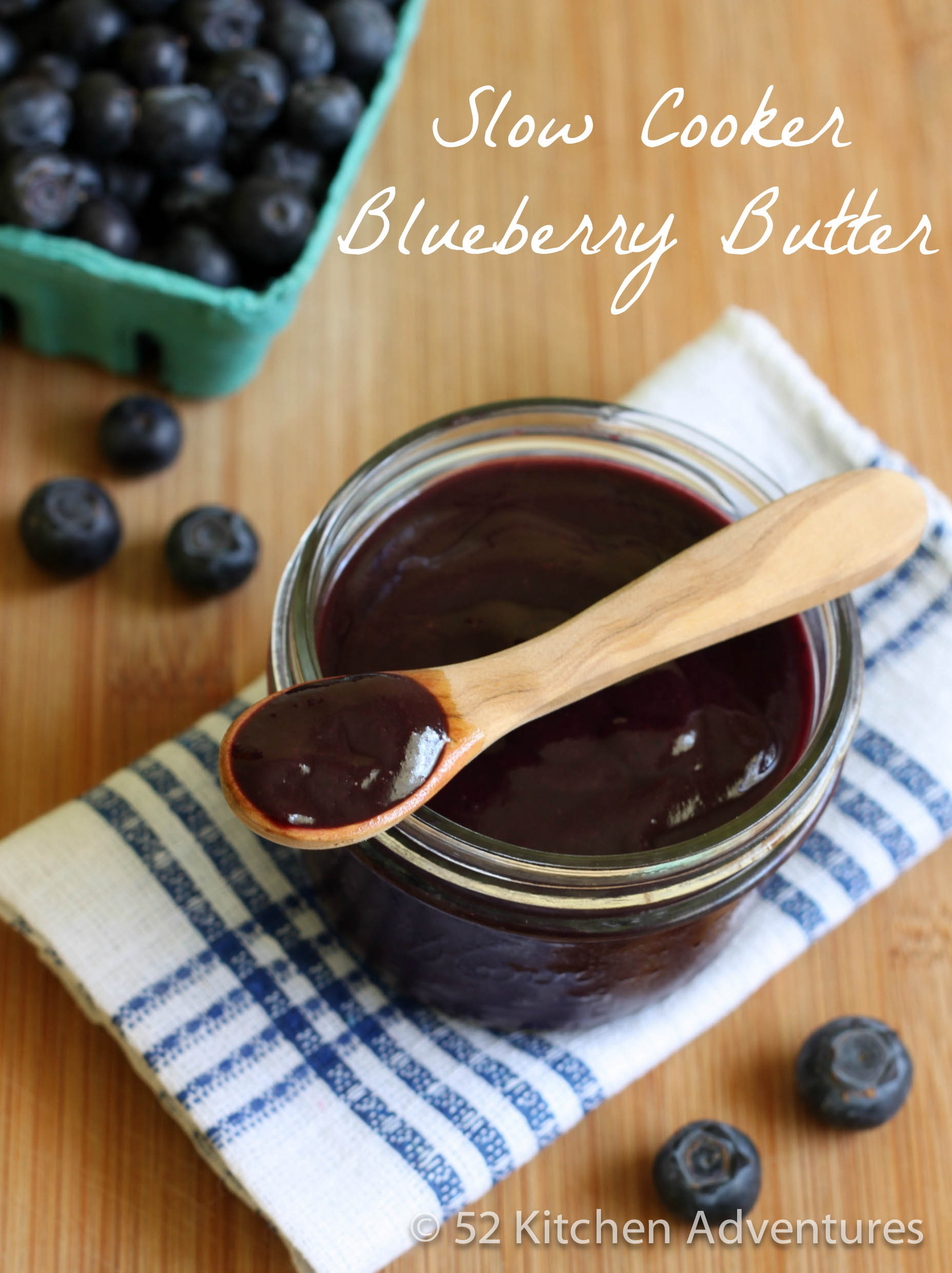 Recipe: Slow cooker blueberry butter