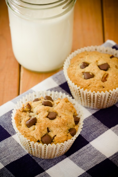 Recipe: Chocolate chip cookie cupcakes