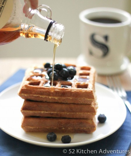 Sour Cream Waffles | 52 Kitchen Adventures