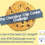The Chocolate Chip Cookie Challenge Kick-Off