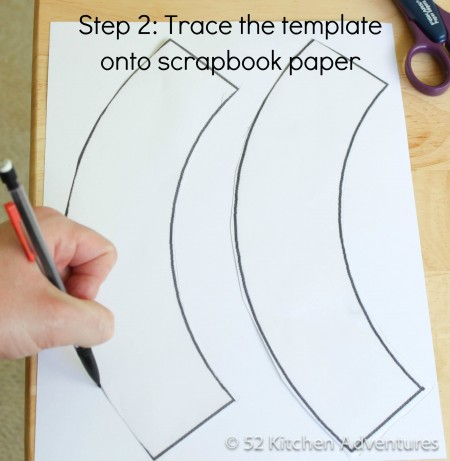 How to make a cupcake wrapper for Giant cupcake liner template