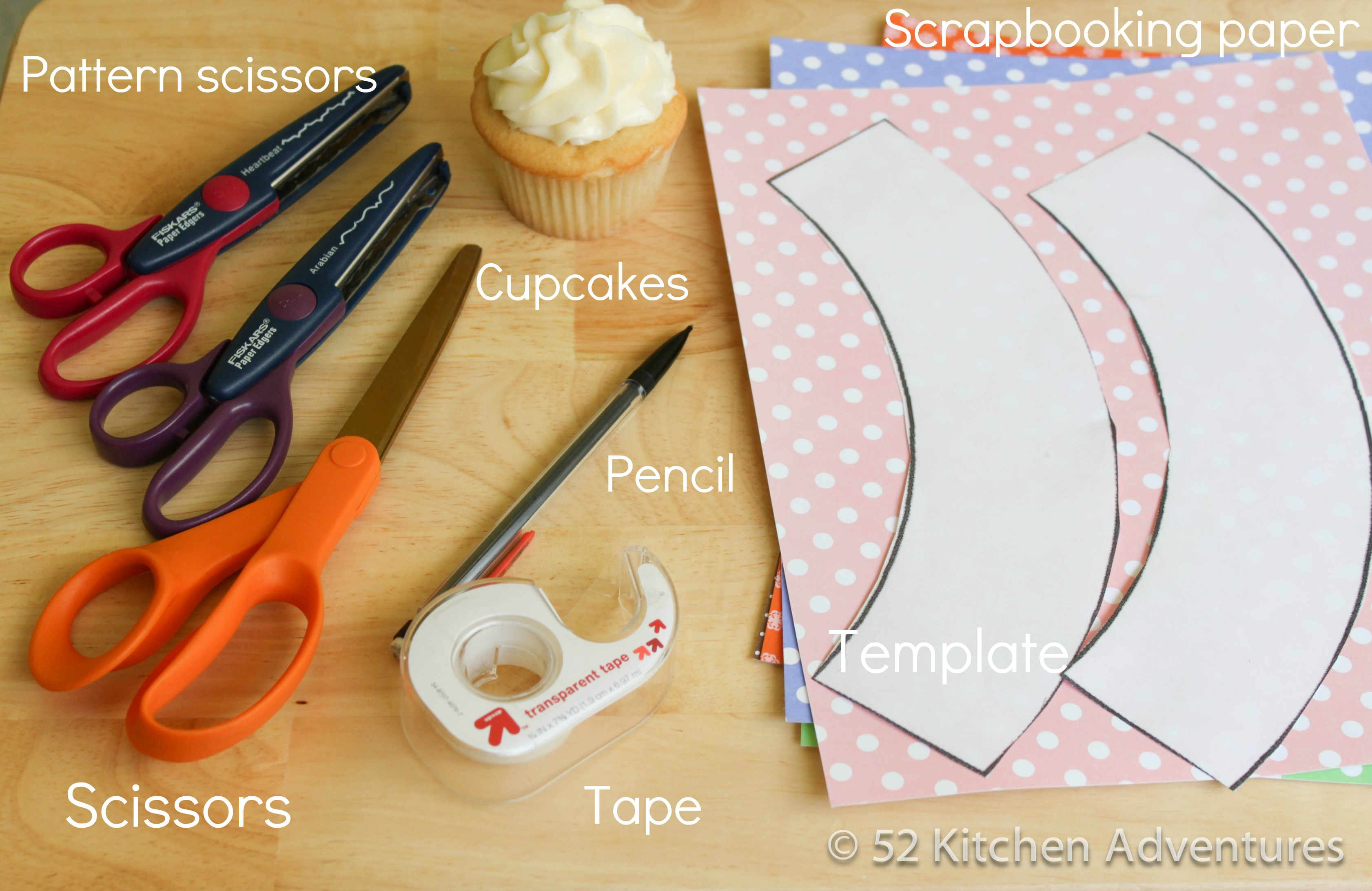 To Make Cupcake Wrappers, Youu0027ll Need: