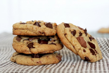 Recipe: Brown butter chocolate chunk cookies