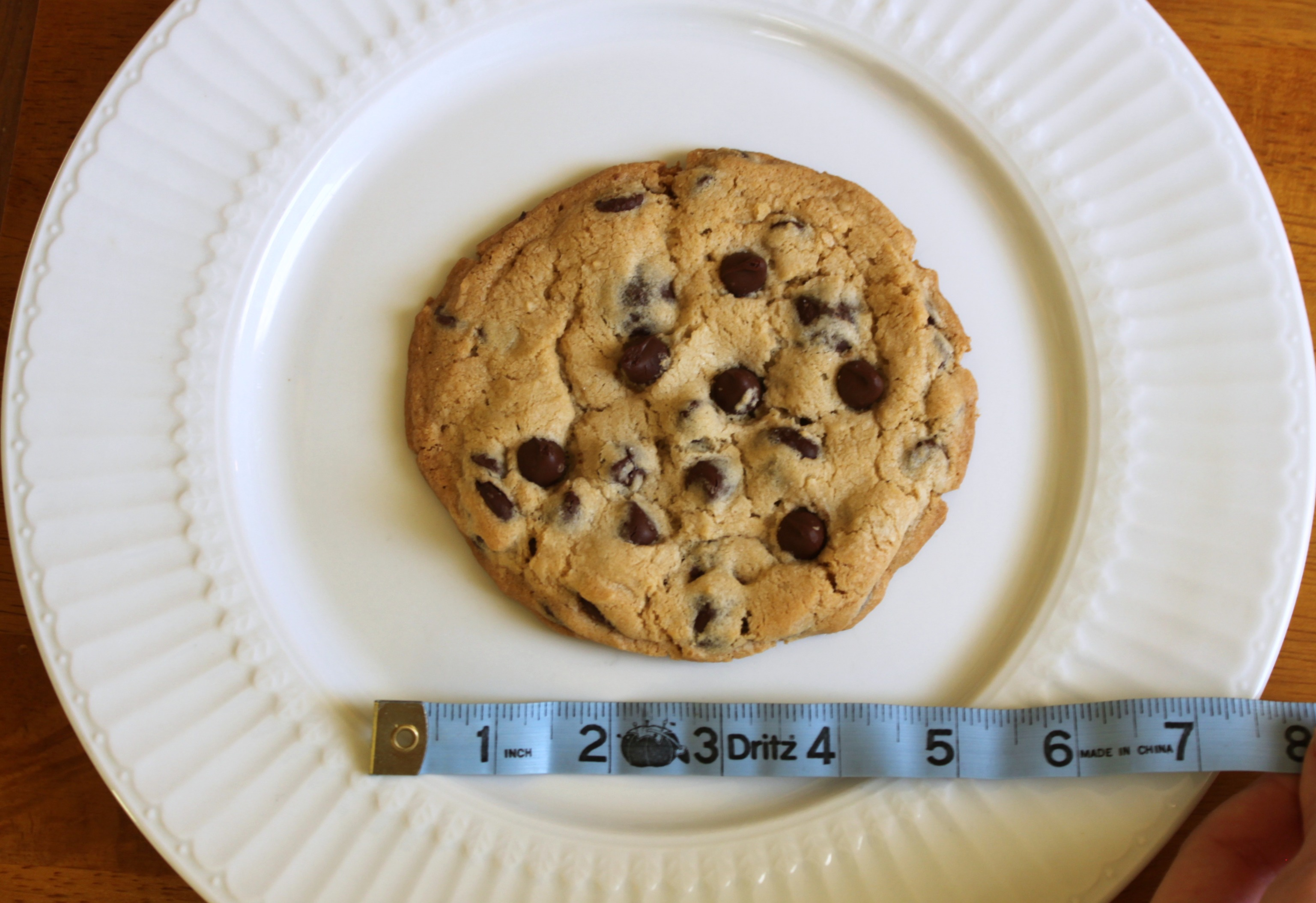 5 inch chocolate chip cookie | 52 Kitchen Adventures