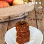 Apple Cider Doughnuts with Salted Caramel