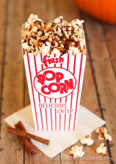Recipe: Fall spiced popcorn