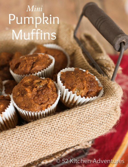 Recipe: Mini pumpkin muffins