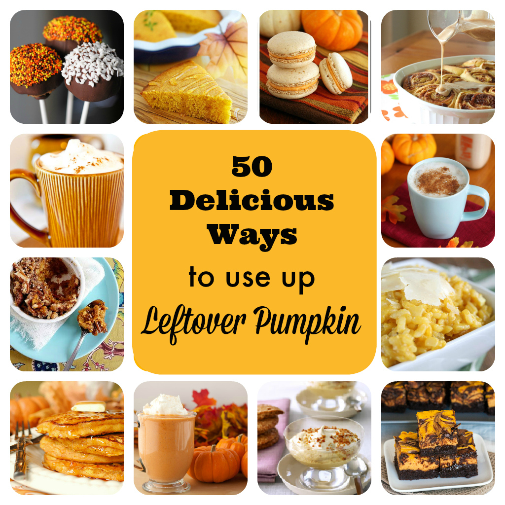 50 delicious ways to use up leftover pumpkin puree