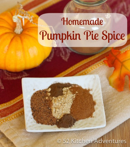 Recipe: Homemade pumpkin pie spice